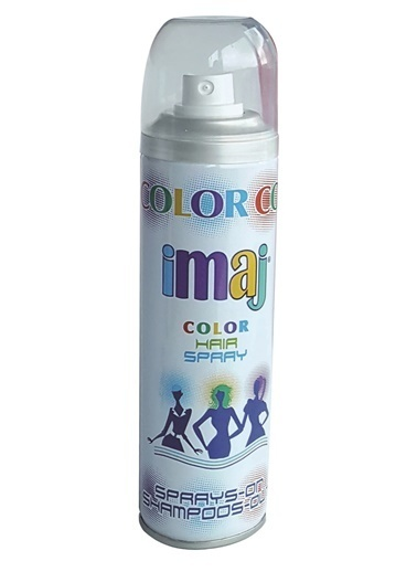 İmaj Color Saç Spray Beyaz 100Ml Beyaz